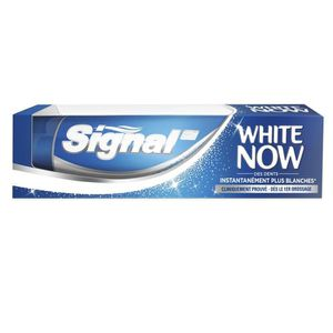 SOIN BLANCHIMENT DENTS SIGNAL Dentifrice White Now Blanc - 75 ml