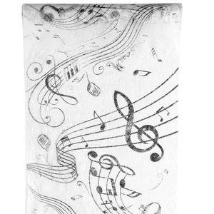 CHEMIN DE TABLE JETABLE Chemin de table musique (x1) REF/70090