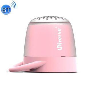 ENCEINTE NOMADE Mini enceinte Bluetooth rose Universe Portable Hau