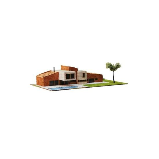 Maquette Maison Moderne Rellinars Echelle 1 87 75369 Achat Vente Univers Miniature Cdiscount