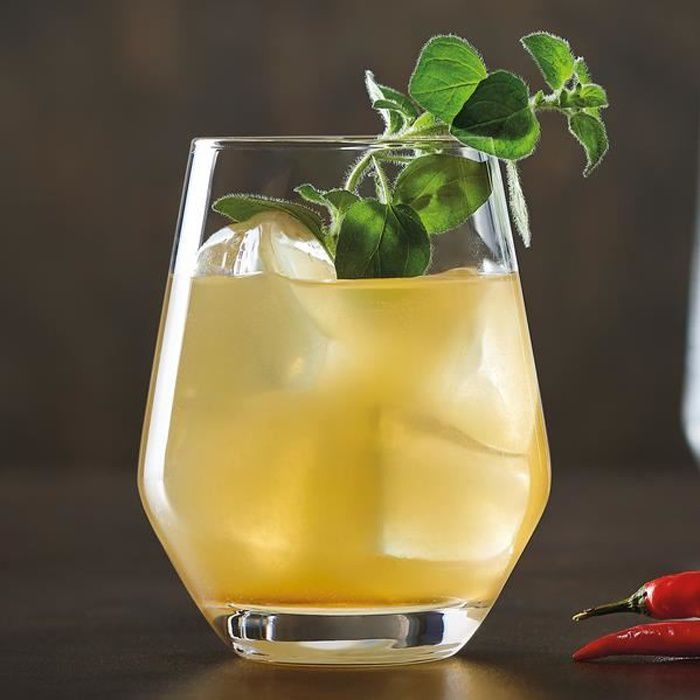 6 verres à eau 38cl Lima - Chef&Sommelier - Cristallin design moderne ultra transparent