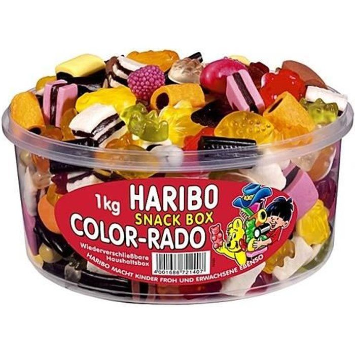 Haribo- Color Rado 1kg