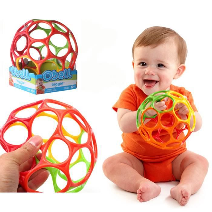 11 cm Doux Coloré Balle Jouets Tactile Morsure Pris Main Oball Balle Pour Bébé Apprentissage Saisir Enfants Cadeau Couleur Aléatoire