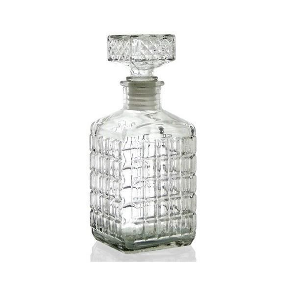 Bouteille - carafe à liqueur - whisky - vin 14,5 cm