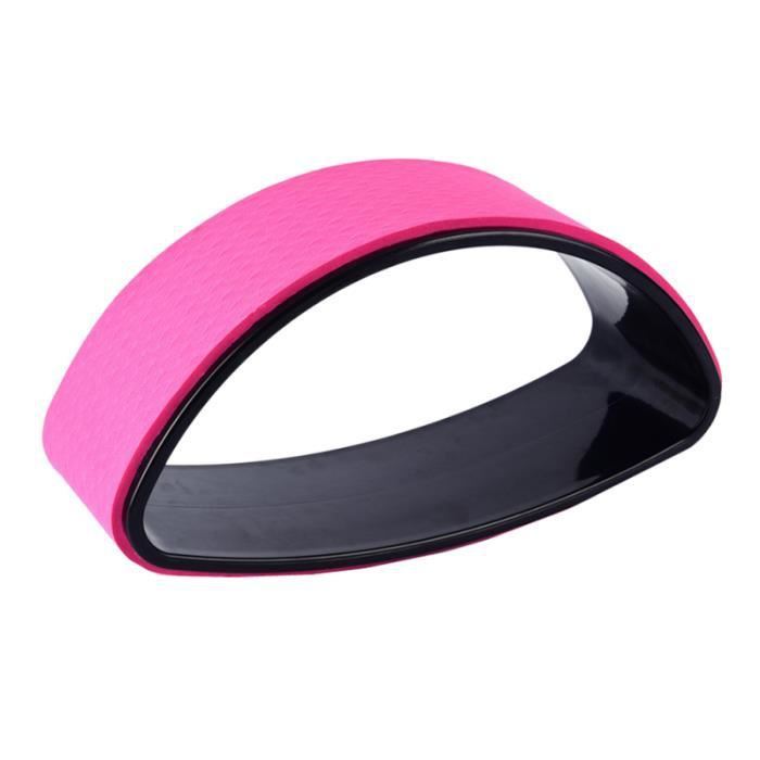 1PC anneaux de Yoga solide boucle auxiliaire de demi-roue courbure arrière pour TAPIS DE SOL - TAPIS DE GYM - TAPIS DE YOGA