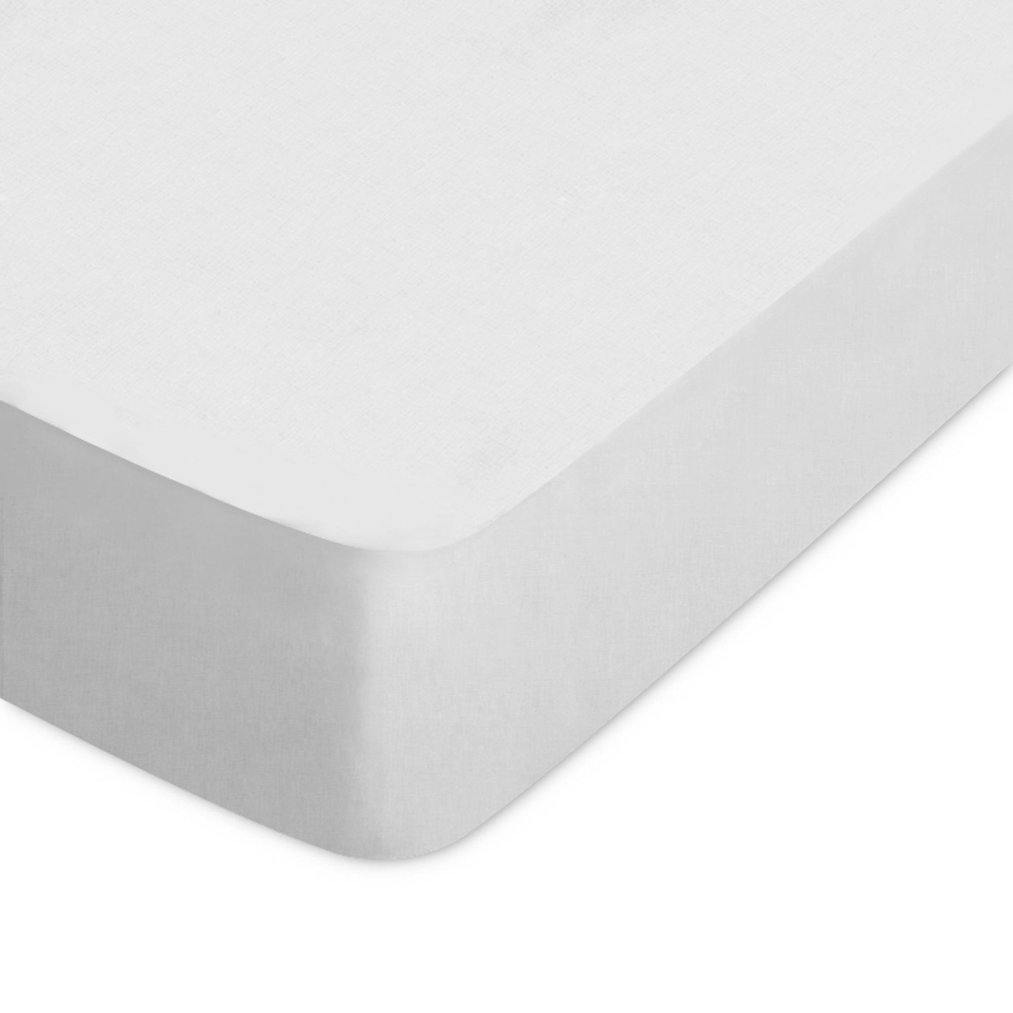 Drap Housse Coton 120x190 gris clair