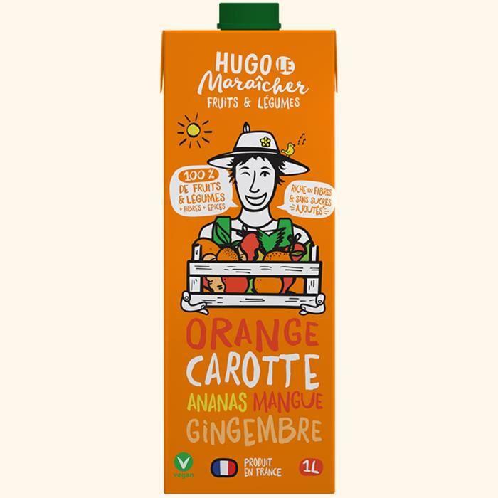 Hugo Le Maraîcher - Jus de Fruits & Légumes Orange Carotte 1L