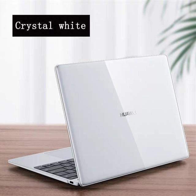 Sacoches & Housses Ordinateur,Coque d'ordinateur portable 2020 pour Huawei MateBook D 15 MateMate - Type Crystal Wihte-MateBook D15