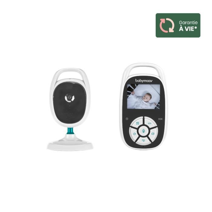 Babymoov Babyphone vidéo YOO See - Compact - Ecran 2,4- (5 cm) - Portée de 250 m