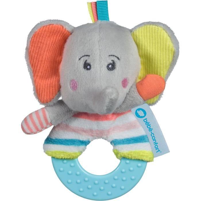 BEBE CONFORTANNEAU DE DENTITION ELEPHANT - ELIDOU l'éléphant