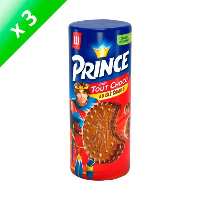 [LOT DE 3] Prince Tout Chocolat 300g
