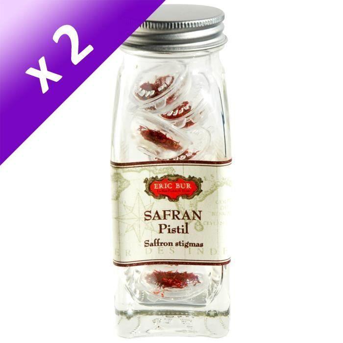 [LOT DE 2] 1 gramme Safran dosettes individuelles