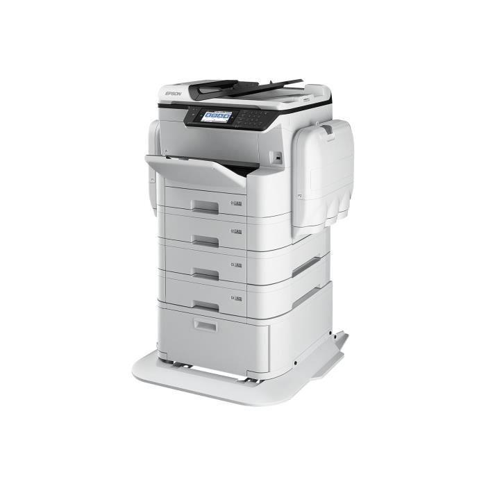 Epson Workforce Pro Wf C869rd3twfc Epp Imprimante multifonctions couleur jet d'encre A3 (297 x 420 mm) (original) A3 (support)...