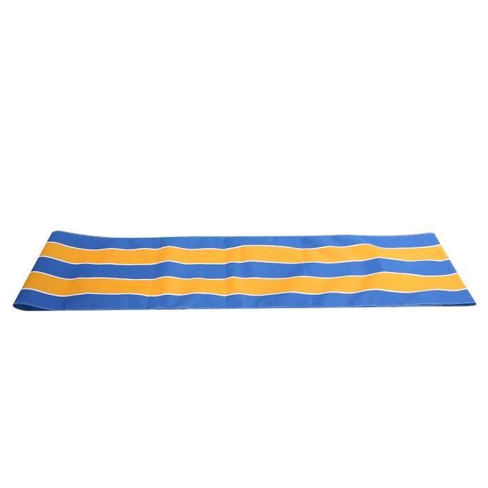 KIMISS Tapis de course de travail d'équipe tissu oxford bleu et jaune 6m-MAD