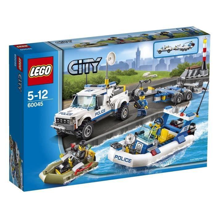 LEGO City 60045 L'Intervention du Bâteau de Police