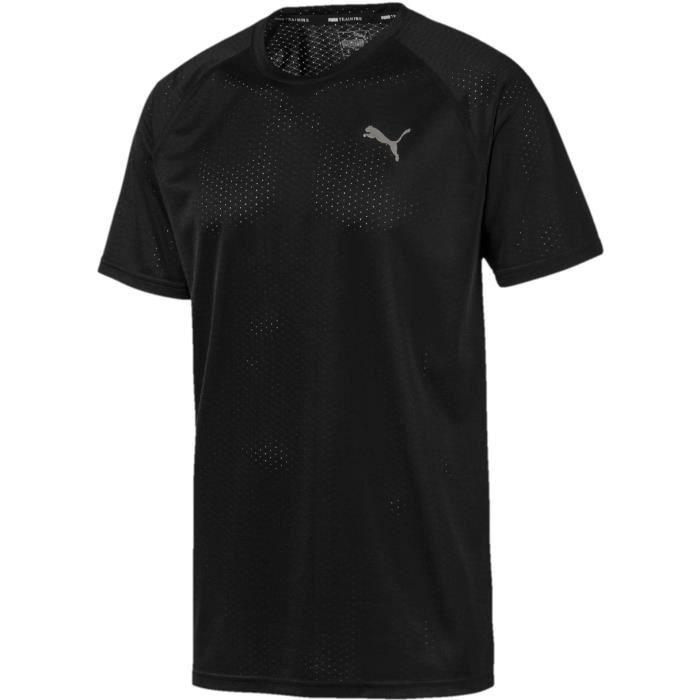 Tee-shirt - PUMA - SS Tech - Noir