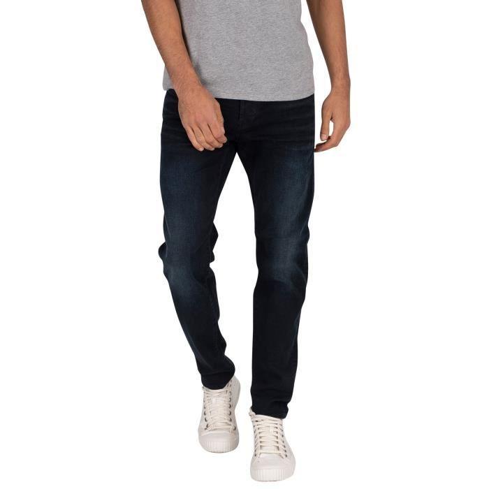 G-Star Pour des hommes 3301 Jeans slim, Noir