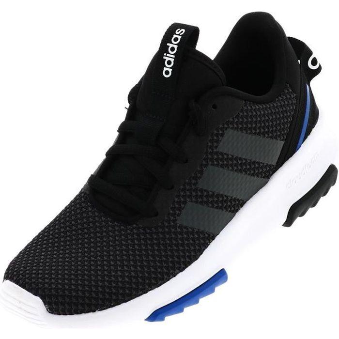 Chaussures mode ville Cf racer tr blk jr - Adidas