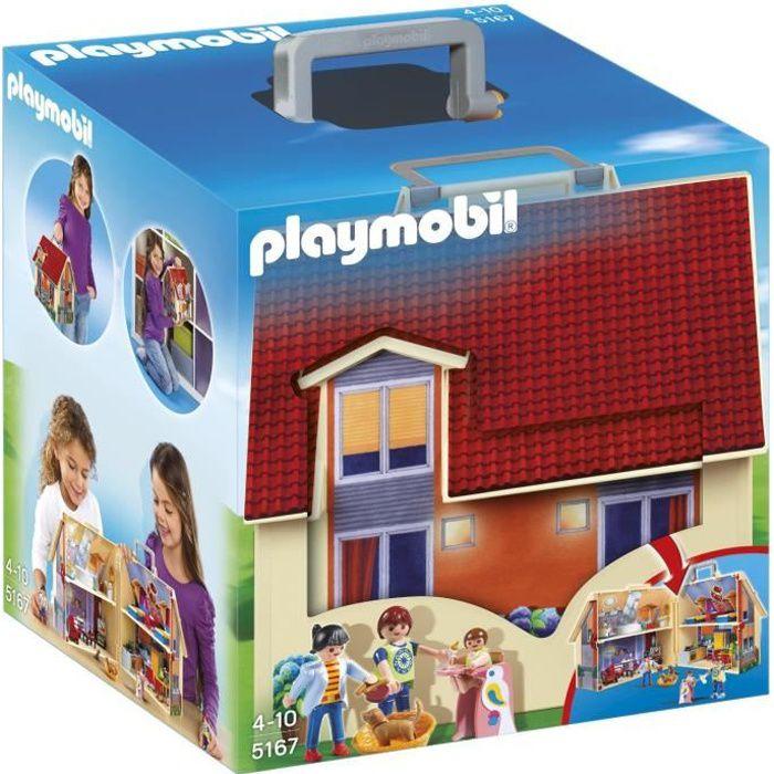 Playmobil - Jeu de Construction - Maison Transportable