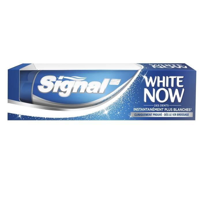 SIGNAL Dentifrice White Now Blanc - 75 ml