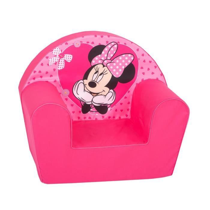 MINNIE Fauteuil Minnie Cœur Rose - Disney Baby