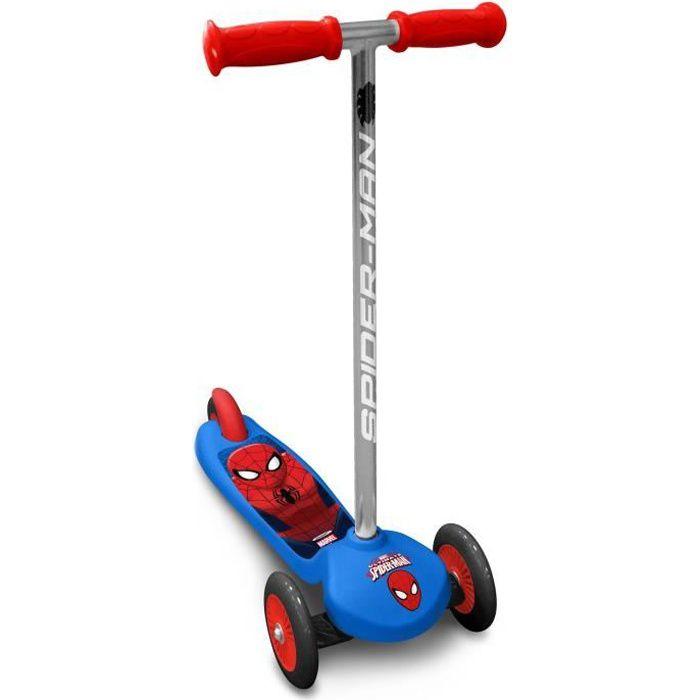 SPIDERMAN Trottinette Steering Twist 3 Roues - Marvel