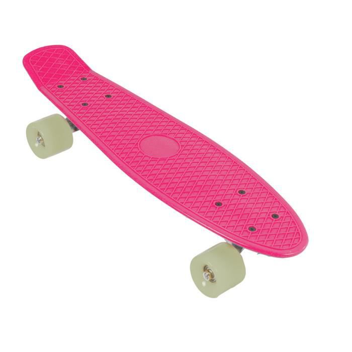 TOM skateboard Retro 56 cm polypropylène rose