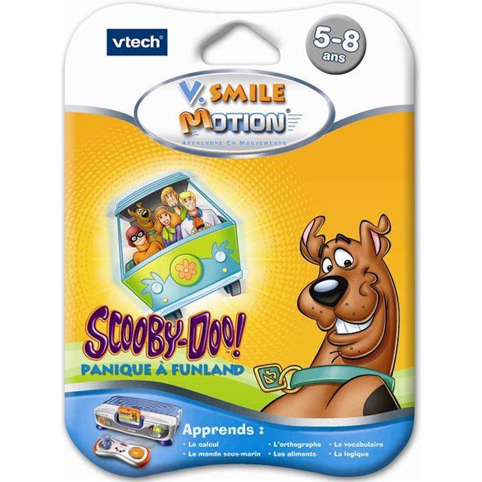 Vtech Jeu V.Smile Motion Scooby Doo