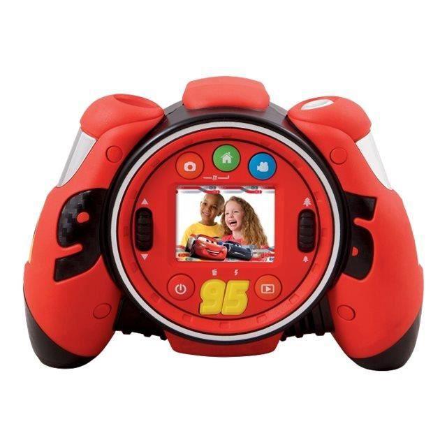 VTech KidiZoom Cars 3 Appareil photo numérique compact avec lecteur numérique-enregistreur vocal 2.0 MP