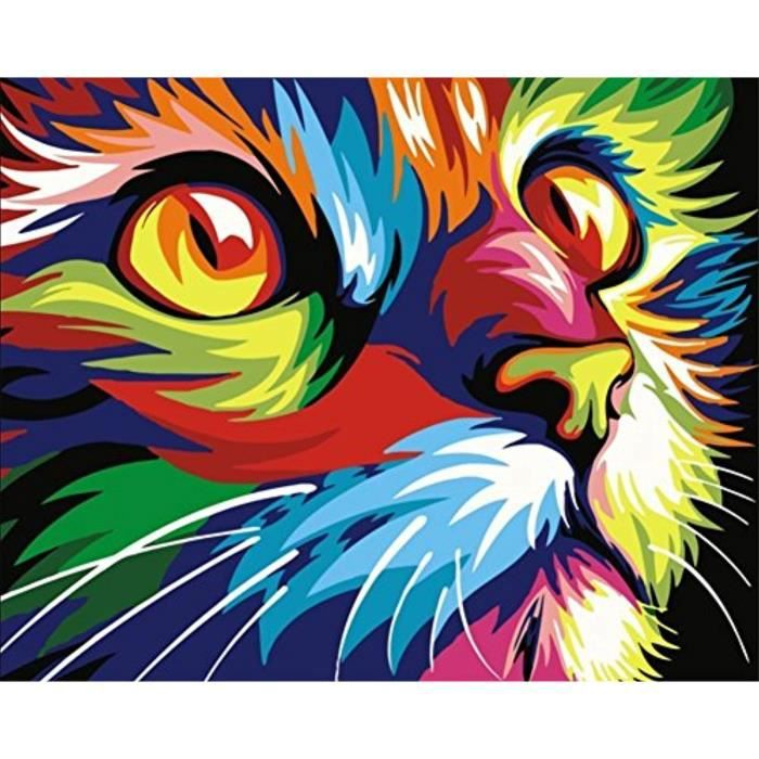 Jeu De Coloriage Q3e80 Cadre En Bois Peinture Par Numeros Kits Avec Carte Loupe 3x 40 X 50cm Peinture Acrylique Bricolage Pour Enfan Achat Vente Jeu De Coloriage Dessin Pochoir Cdiscount