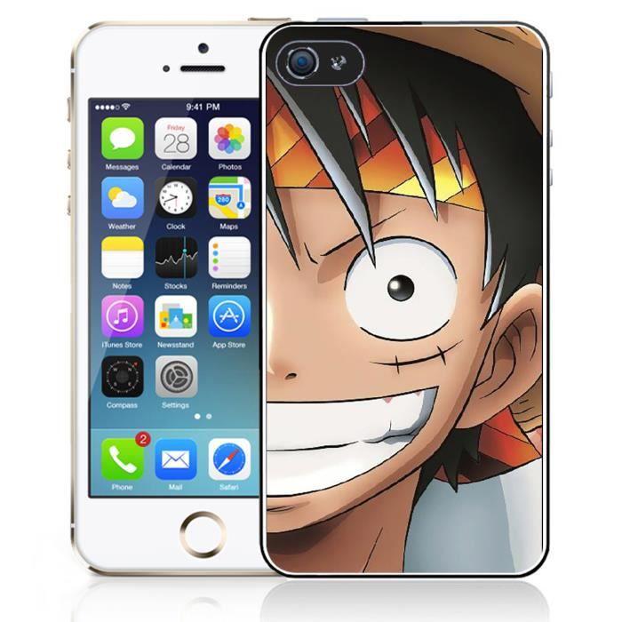 Coque iPhone 5 - 5S - SE One Piece Luffy