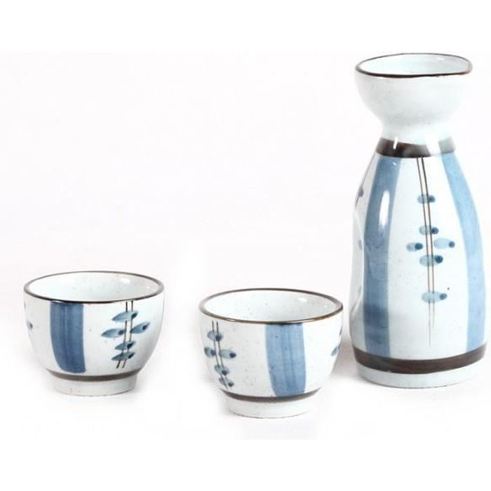 Coffret service sak ou alcool tradition du japon for Service de table japonais