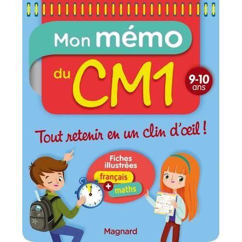 Livre Mon Memo Du Cm1 9 10 Ans Tout Retenir En Un