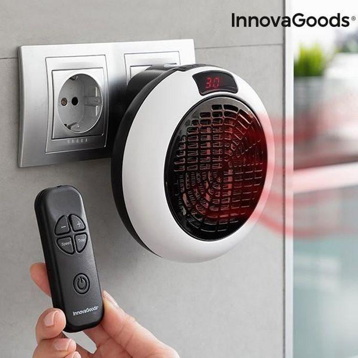 Radiateur Ceramique Pour Prise Avec Telecommande Innovagoods 600w Achat Vente Radiateur Electrique Radiateur Ceramique Pour Cdiscount
