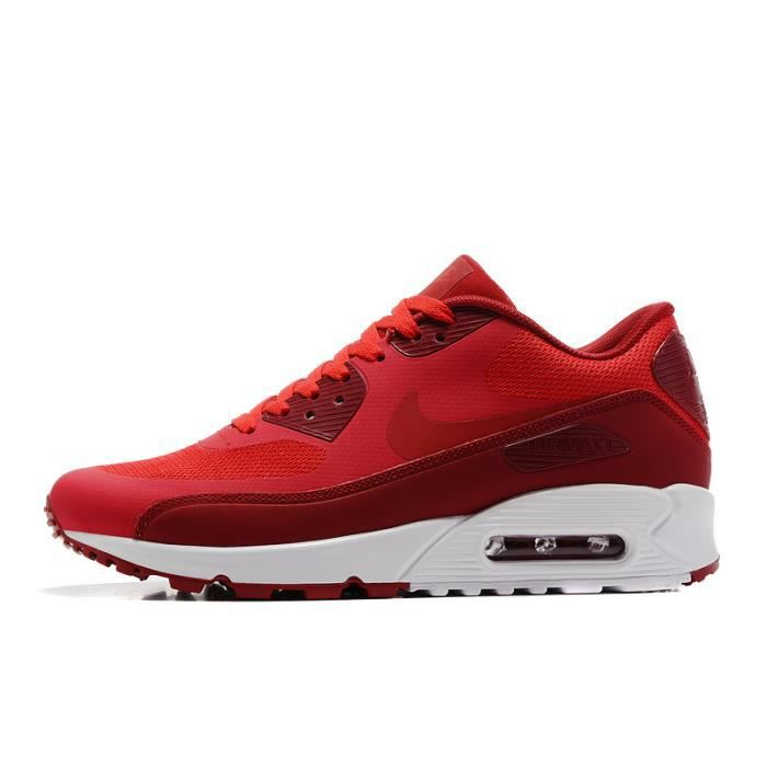 NIKE AIR MAX 90 ULTRA 2.0 ESSENTIAL CHAUSSURE DE RUNNING ROUGE ...