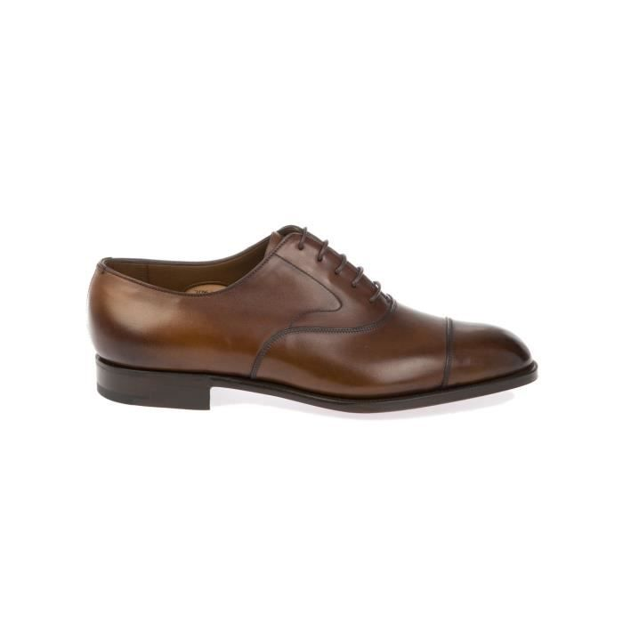 DERBY EDWARD GREEN HOMME CHELSEADARKOAKANTIQUE MARRON CU
