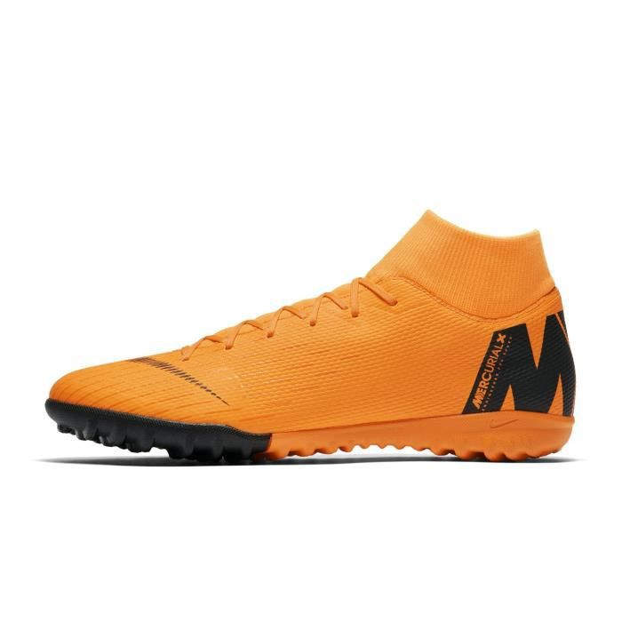 designer fashion b94ca d12aa Chaussures football Chaussure de Football Nike MercurialX Superfly VI  Academy TF Orange
