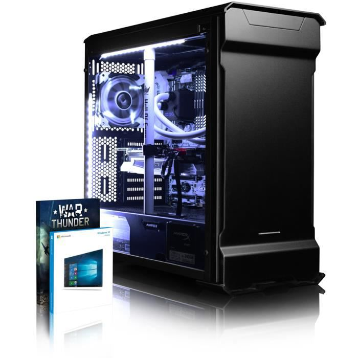 vibox luminos gxr780 80 pc gamer intel 10 core gtx 1080 gaming ordinateur de bureau avec 64. Black Bedroom Furniture Sets. Home Design Ideas