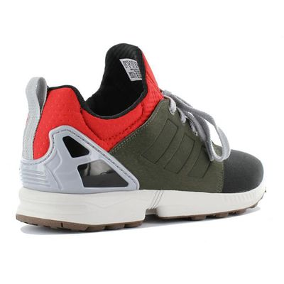 low priced d1b72 41018 Zx Flux Updt Baskets Sneaker Chaussures Af6354 Adidas Originals Noir Homme  Nps RqwxEq5nI