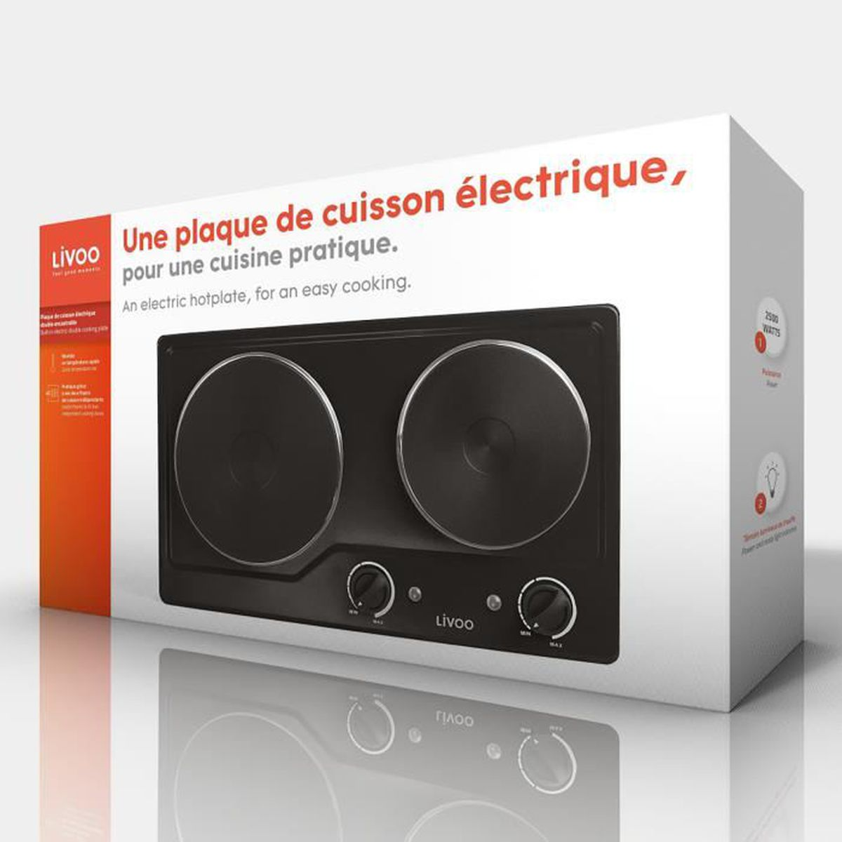 Demonter Plaque De Cuisson Electrique plaque de cuisson double électrique domoclip doc168n noire