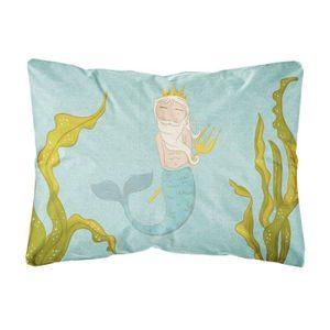 LIT PLIANT  Lit Pliant Neptune Merman Toile Tissu coussin déco