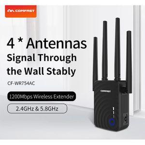POINT D'ACCÈS 1200Mbps WiFi Repeater Extender Amplificateur de s