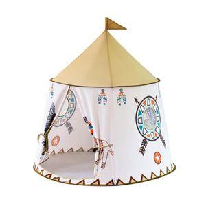 TENTE TUNNEL D'ACTIVITÉ  Tente de Jeu Portable Tente de Château Indienne p