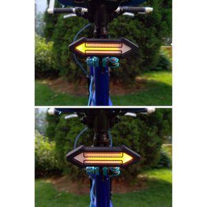 DÉCORATION DE VÉLO Indicateur de lumière de clignotant de tour de vél