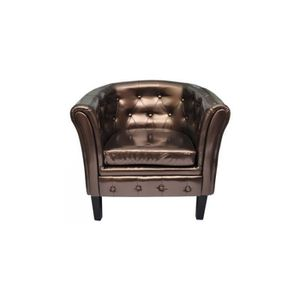 Fauteuil cabriolet chesterfield achat vente fauteuil - Fauteuil cabriolet chesterfield ...