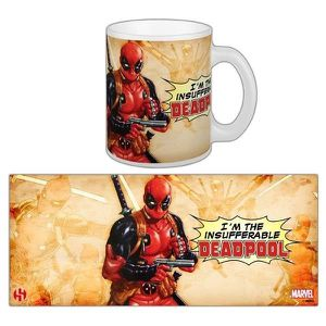 BOL - MUG - MAZAGRAN Mug Deadpool - Insufferable