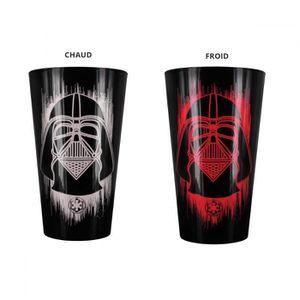 Verre à eau - Soda Verre thermoréactif Dark Vador Star Wars Unique