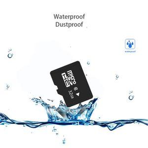 CARTE MÉMOIRE Classe 10 Carte mémoire Micro SD 32 Go Mini Carte