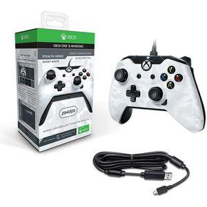 MANETTE JEUX VIDÉO Manette filaire pour Xbox One /S/X/PC - Camo Blanc