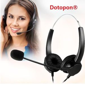 CASQUE - ÉCOUTEURS Dotopon® Mains libres Noise Cancelling Call Center